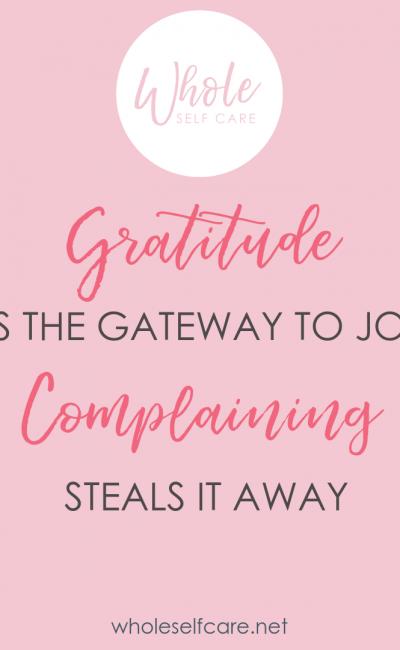 The Transforming Power of Gratitude